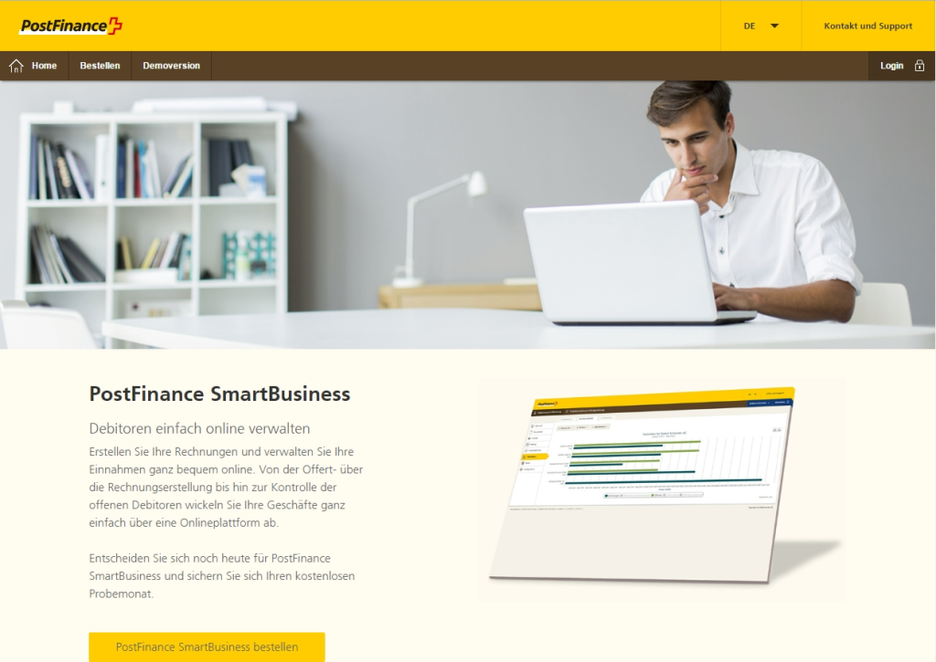 smartbusiness postfinance