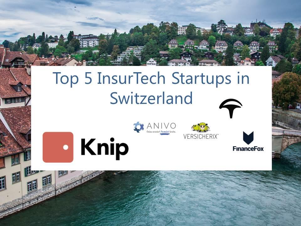 Technology Management Image: Top 5 Insurtech Startups In Switzerland