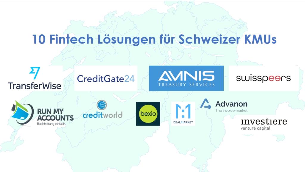 10 Swis Fintech SMEs