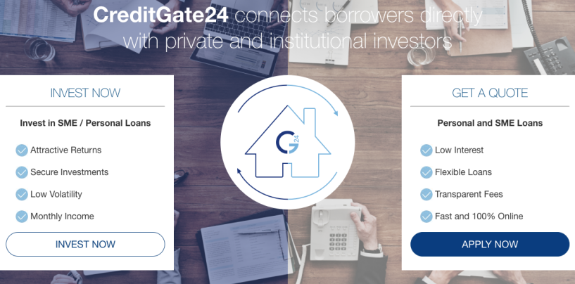 Fintech Startup Of The Month: P2P Lending Platform CreditGate24