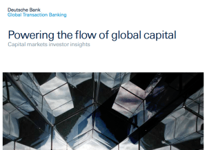 Deutsche Bank report capital markets