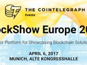 BlockShow Europe 2017: The Major European Blockchain Conference Will Open in April