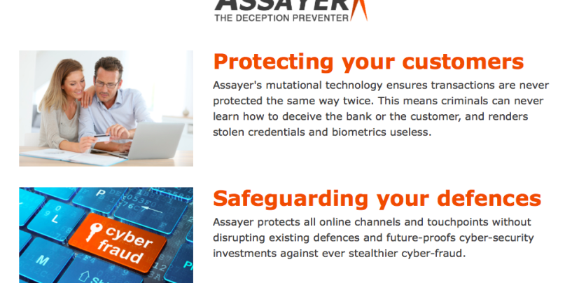 The Next Generation of Financial Cyber-Fraud Prevention is Unveiled