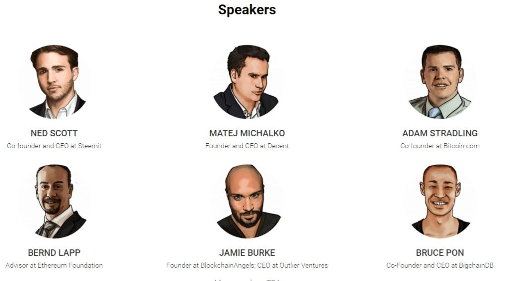 blockshow 2017 speakers