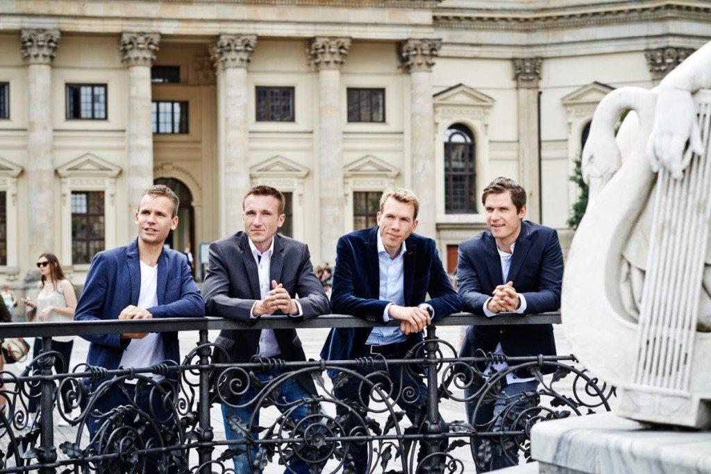 André Holdschick, Stephan Henker, Robert Henker, Marius Schulze