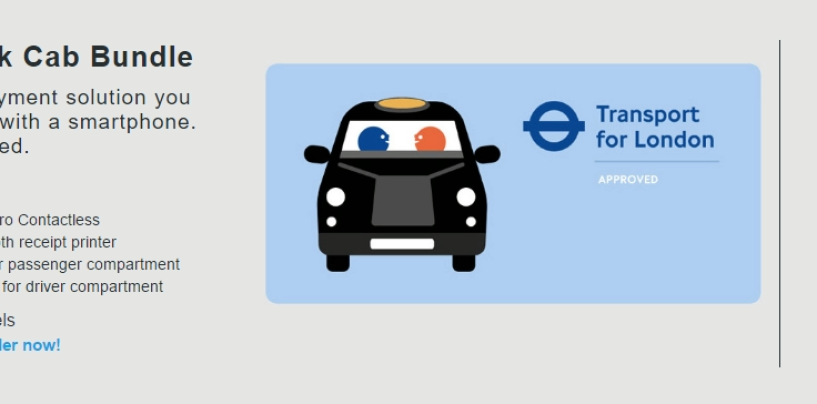 Star Micronics To Provide London's Licensed Taxi Drivers With TfL Approved Card Payment Bundle