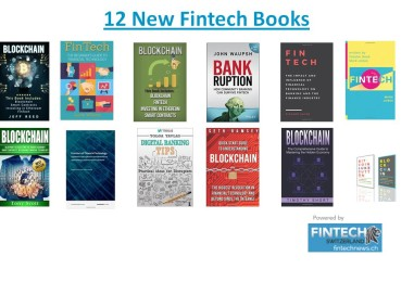 12 New Fintech Books To Read in 2017
