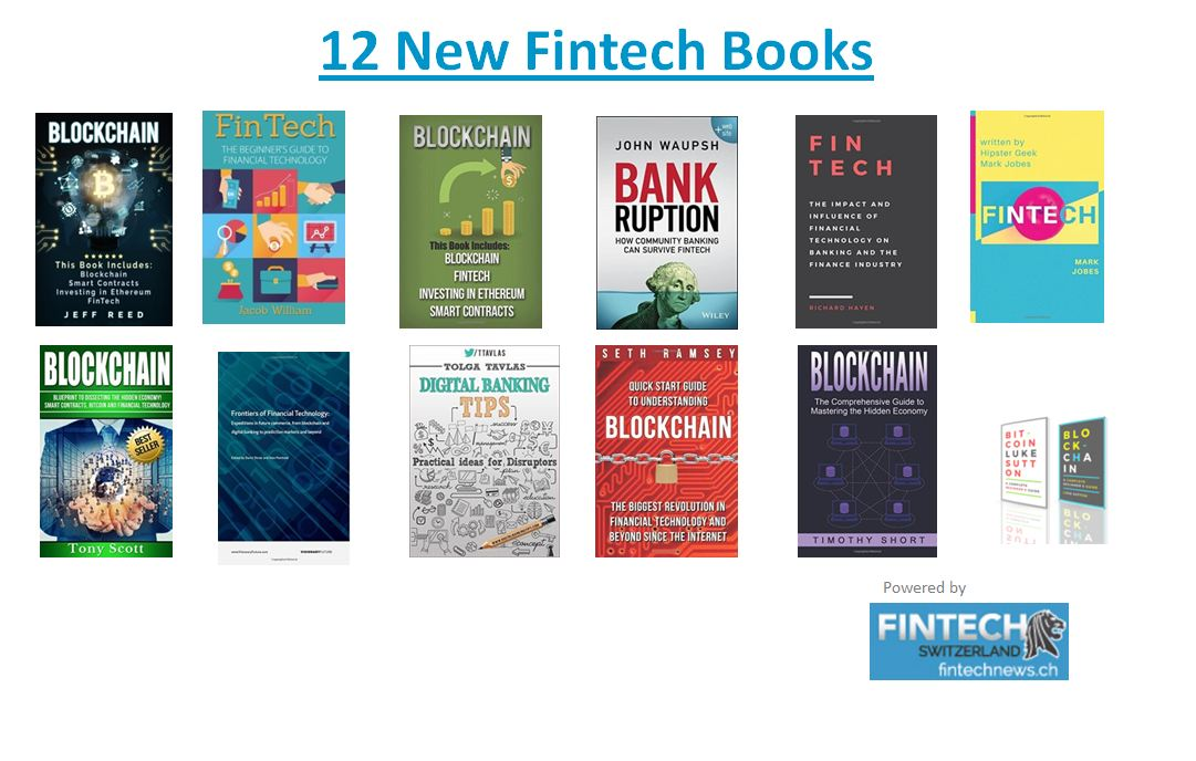 12 New Fintech Books To Read in 2017 | Fintech Schweiz Digital