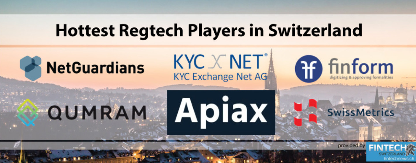 Hottest Regtech Players in Switzerland