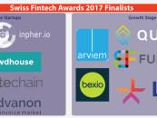 10 Schweizer Fintech Startups Nominiert für die Swiss Fintech Awards 2017