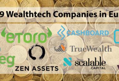 Top 9 Wealthtech Companies in Europe