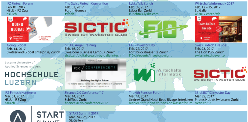 Upcoming Fintech Events in Switzerland