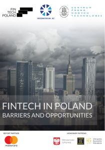 Fintech in Poland Opportunities and Barriers