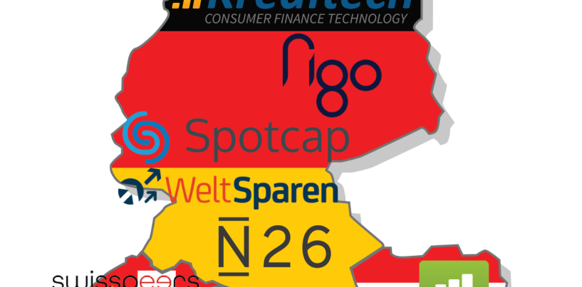 Top 10 Fintech Startups in DACH (Germany, Austria and Switzerland)