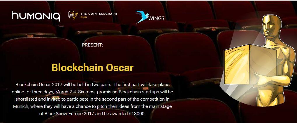 blockchain oscar