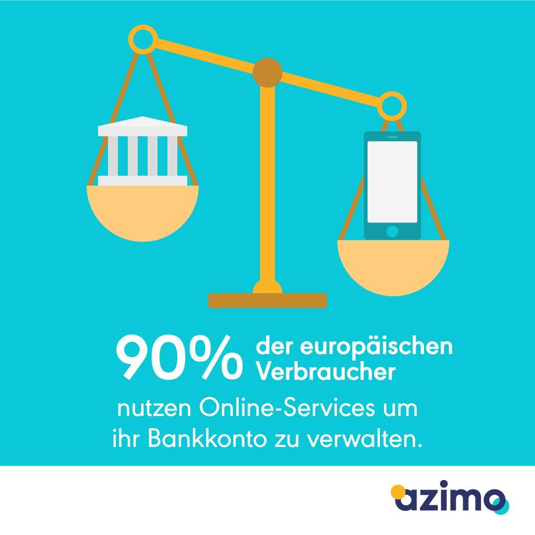 Azimo Bankkonto online-services