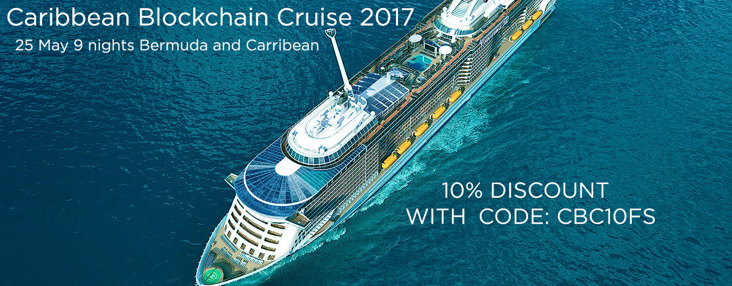 Welcome Aboard: CoinsBank announced second annual Blochchain Event on a Cruise Ship