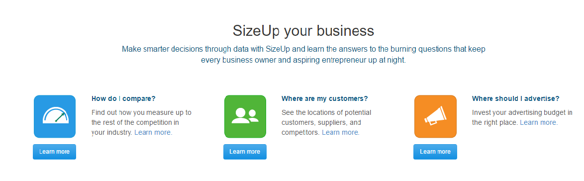 Size up your business
