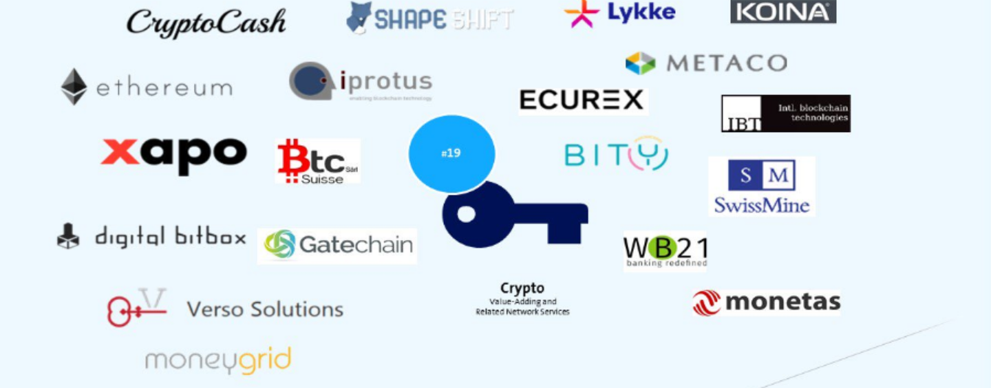 The Swiss Crypto/Blockchain Startup Map