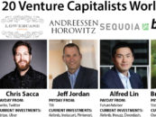 Infographic: The Top 20 Venture Capitalists Worldwide