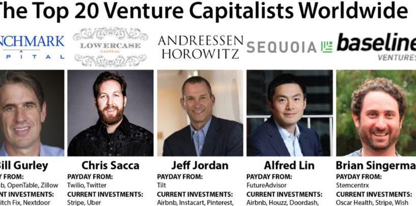 Infographic: The Top 20 Venture Capitalists Worldwide