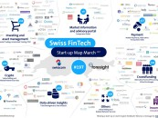 Swiss Fintech Startup Map (March Update) / Neu mit Sektor-Graphic
