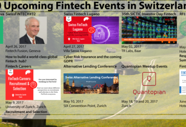10 Upcoming Fintech Events in Switzerland