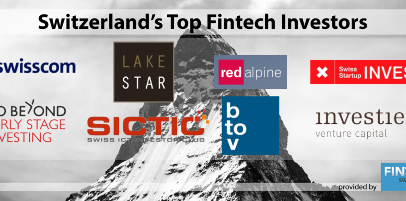 Switzerland's Top Fintech Investors