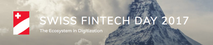 Swiss Fintech Day 2017