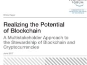 WEF Blockchain Report: Multi-Stakeholder Approach is the Best Way to govern Blockchain