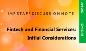 Fintech and Financial Services Initial Considerations