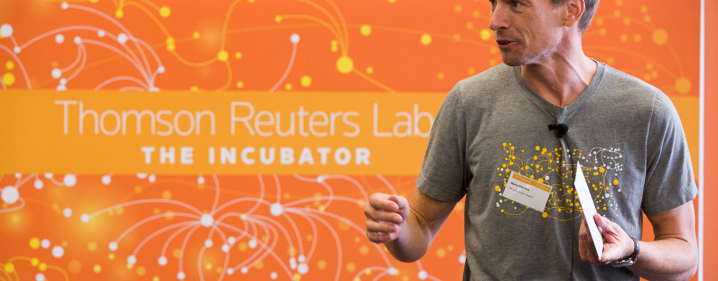 Thomson Reuters Launches Fintech Startup Incubator in