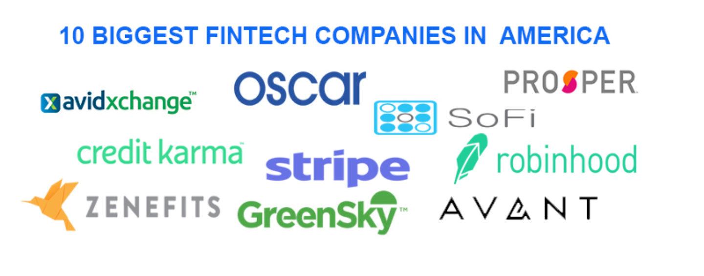 The 10 Biggest Fintech Companies In America
