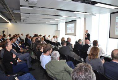 Volles Haus beim Swiss Fintech Day 2017 mit Bundesrat