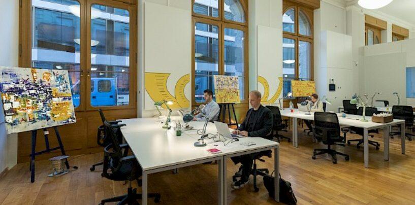 Office LAB eröffnet Coworking Standort in Zuger Postgebäude