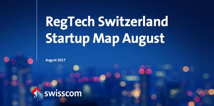 RegTech Switzerland Startup Map August