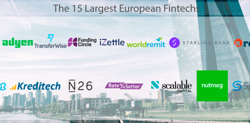 The 15 Largest European Fintechs