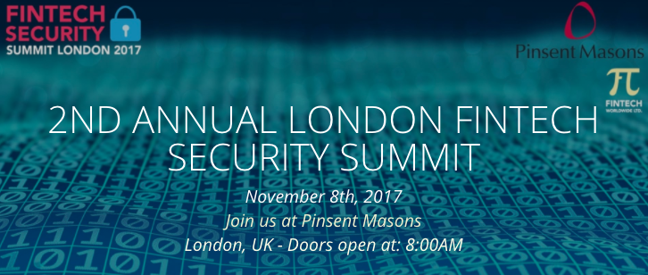 2nd Annual London Fintech Security Summit 2017