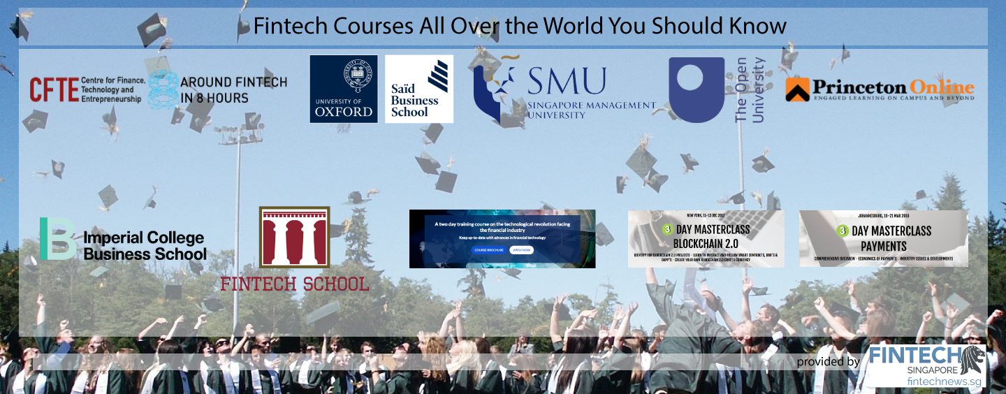Fintech Courses All Over the World You Should Know