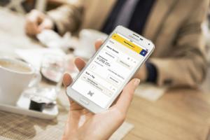 PostFinance mobile app