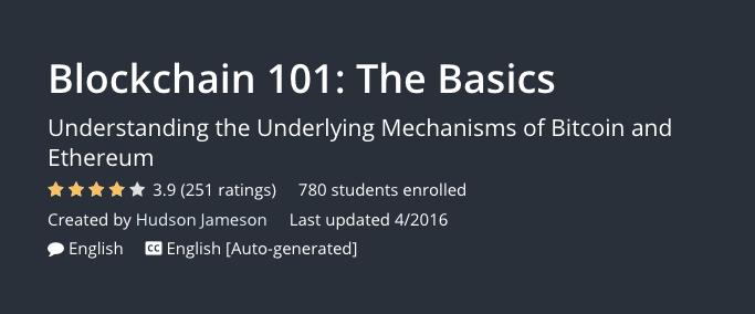 Blockchain 101 The Basics