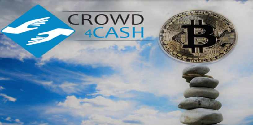 Crowdlending meets Cryptos: Crowd4Cashaccepts Bitcoins and Litecoins