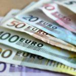 euro bank note