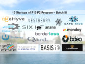 F10 Announces Final Selection Process For Batch 3