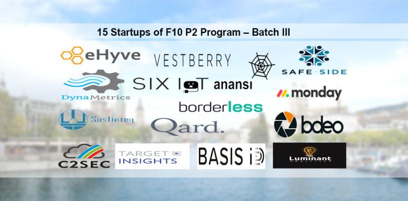 F10 Announces Final Selection Process For Batch 3