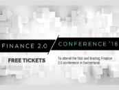 Tickets Give-Away to Finance 2.0 Conference '18