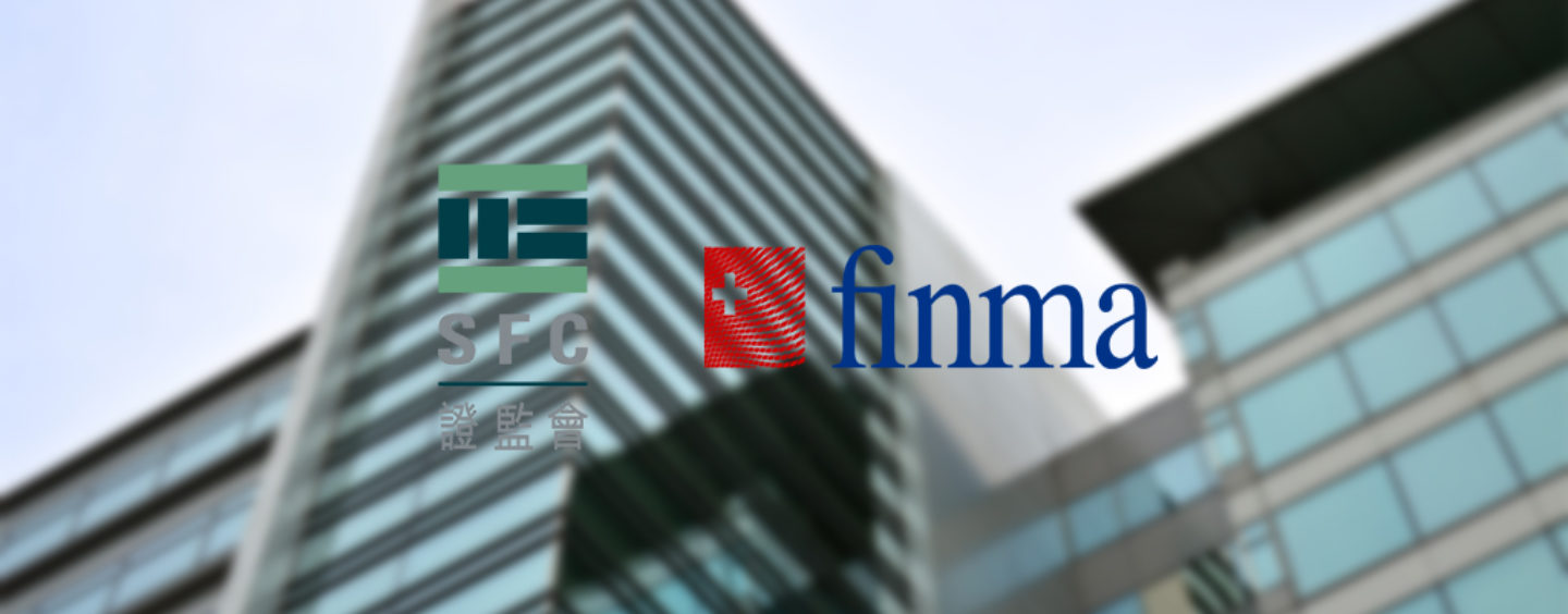 FINMA sign Fintech Cooperation Agreement with Hong Kongs SFC