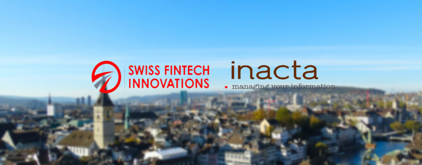 SFTI and inacta Partner to Promote Blockchain for Finance