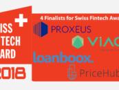 Swiss Fintech Awards Unveil 2018 Finalists