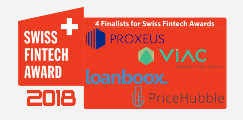 Swiss Fintech Awards Unveil 2018 Finalists